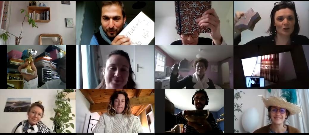 Atelier participatif en visio conférence