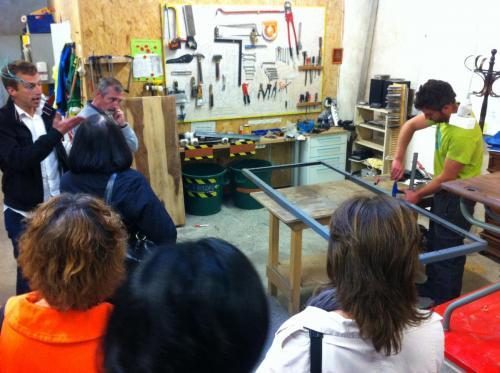 Visite d'organisation : La Glanerie, recyclerie