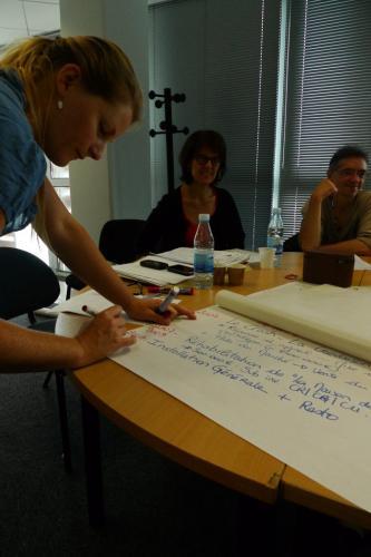 Travail en petit groupe et analyse collective