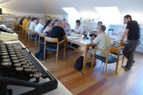 Atelier à la maison de l'écriture